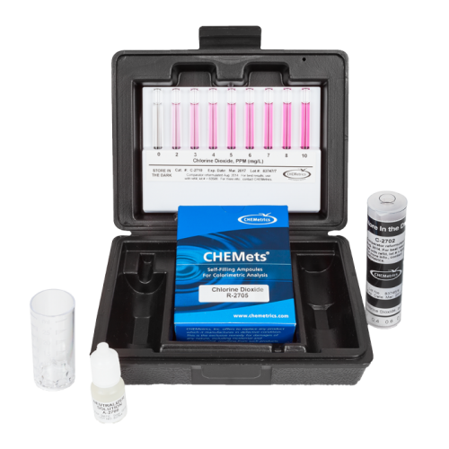 chemetrics chlorine dioxide test kit osprey scientific