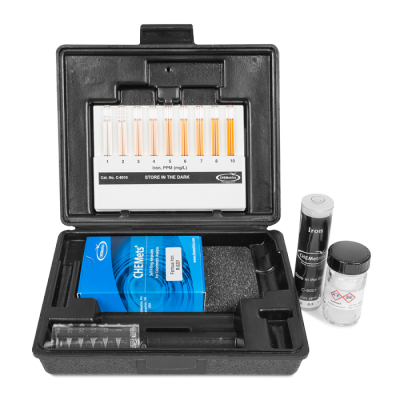 chemetrics iron test kit osprey scientific