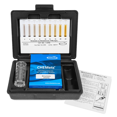 chemetrics molybdate test kit osprey scientific