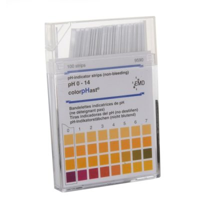 MColorpHast pH-Indicator Test Strips (non-bleeding)