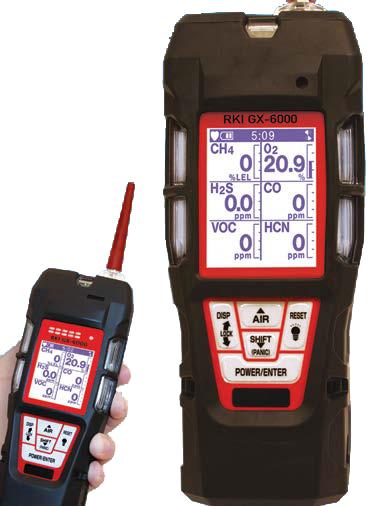 osprey scientific rki gx-6000 PID monitor
